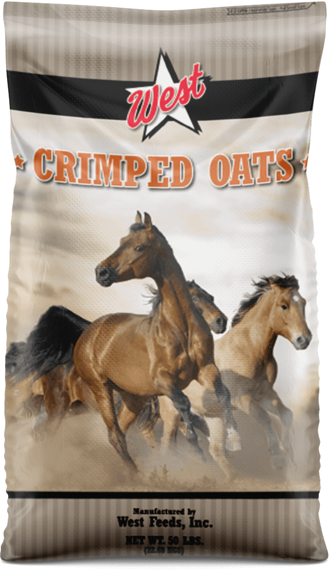 crimped oats bag