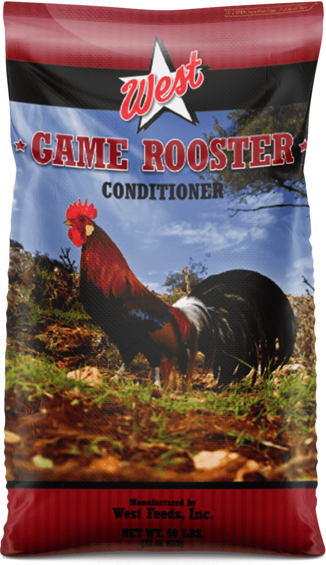 game rooster feed bag